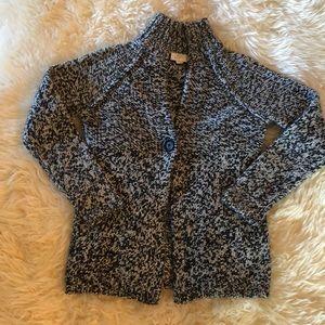LOFT Wool Blend Button Sweater